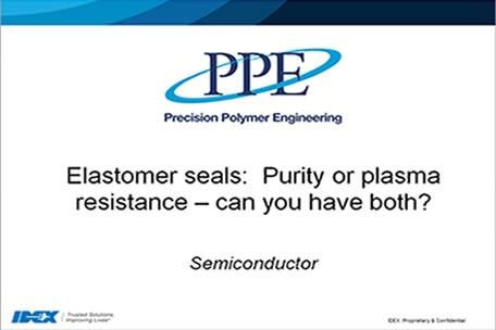 Webinar: Tenute semiconduttrici: purezza e resistenza al plasma, puoi averle entrambe?